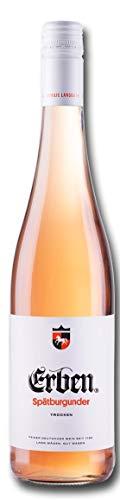 Erben Spätburgunder Rosé Trocken – Roséwein aus Deutschland – Qualitätswein – (1 x 0.75 l)