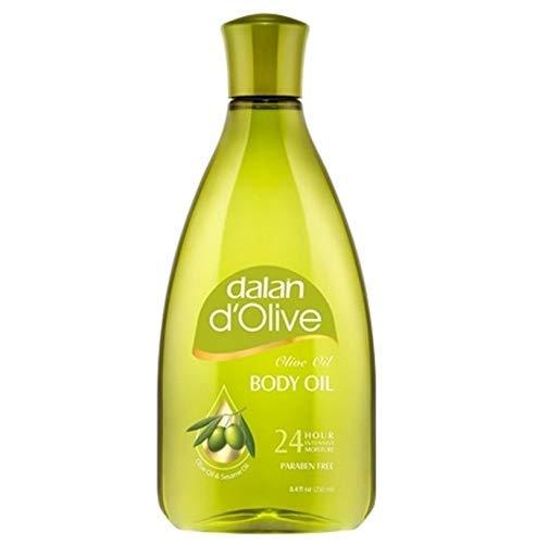 3 x Dalan D'Olive Olivenöl Intensiv Feuchtigkeits - Körperöl - alle Hauttypen - 250 ml