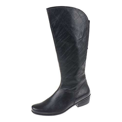 Durea 9443785 - Botas de caña Alta para Mujer, Color Negro
