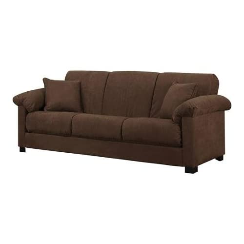 Brown Microfiber Couch: Amazon.com