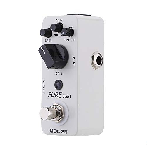 Festnight Mooer Boost puro Micro Mini Boost pedale effetto per chitarra elettrica True Bypass