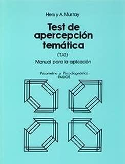Test de Apercepcion Tematica. Manual (Spanish Edition)