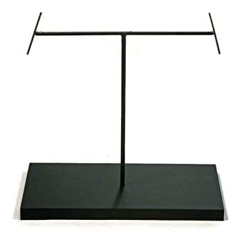 """SET OF 2 METAL ROD DISPLAY STANDS FOR AFRICAN ART /& OTHER OBJECTS 11/"""" /& 14/"""""""