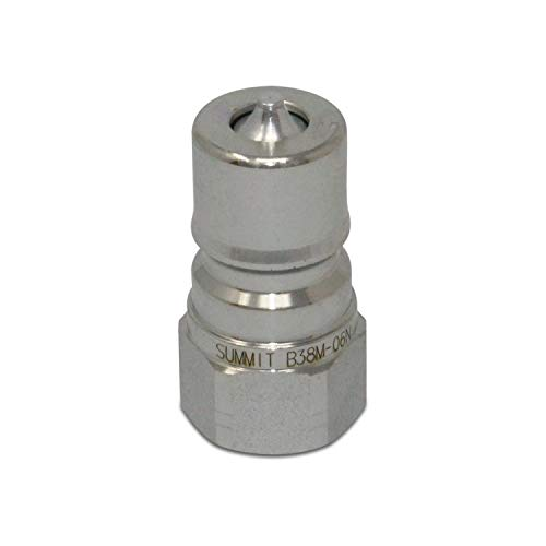 3/8″ NPT ISO 7241-B Quick Disconnect Hydraulic Male Coupler