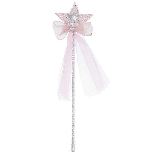 PRETYZOOM 3 Piezas Varita de Hadas para Nios Nias Princesa Disfraz de Hada Conjunto Disfraces de ngel Regalos para Nios Cumpleaos Boda Fiesta Favor (Rosa)