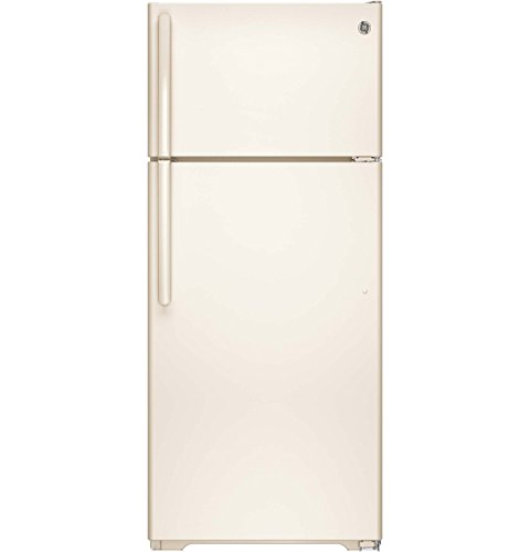GE GTE18GTHCC 17.5 Cu. Ft. Bisque Top Freezer Refrigerator - Energy Star