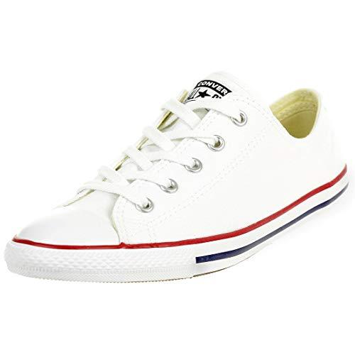 Converse CT Dainty Ox C537204 Damen Sneaker, Weiß (Blanc/Rouge), 41 EU