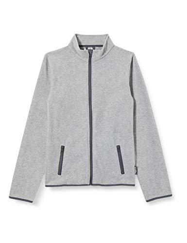 Playshoes Mädchen Kinder Fleece Jacke, Grau (Grau/Melange 37), (Herstellergröße: 80)