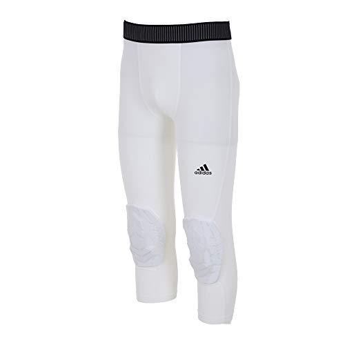 adidas Herren 3/4 Padded Tight, White, L