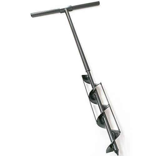 地面・畑・田んぼに簡単にパイプや杭を打ち込めます。【かんたん穴掘り器 直径:75mm】