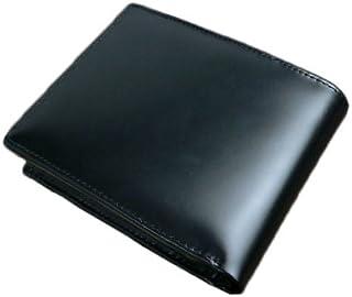 デコローゾ Decoroso コードバン 二つ折り財布 CL-1200 ブラック
