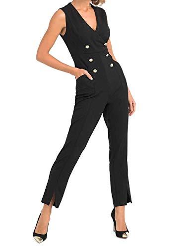 Joseph Ribkoff Black Jumpsuit Style 193484 (10)