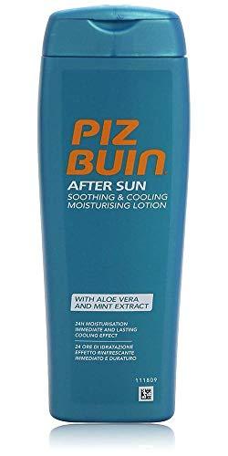Piz Buin - After Sun Loci?n Hidratante, Calmante y Refrescante After Sun - Bote 200 ml
