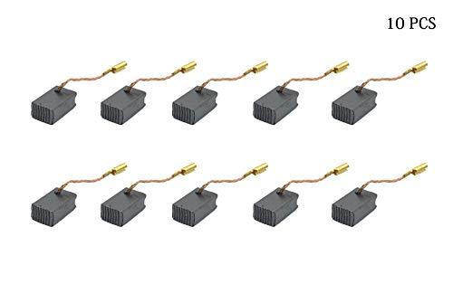 Cepillo de motor de carbono, 10 unidades, 14 mm x 8,5 mm x 6,5 mm, pieza de repuesto para herramientas eléctricas