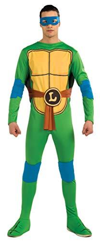 Rubie's-déguisement officiel - Tortue Ninja TMNT- Déguisement Leonardo Tortue Ninja TMNT - Taille Unique- CS987248