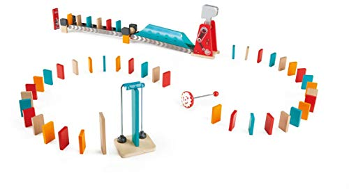 Hape E1056 - Großer Hammer Domino, Kettenreaktionsspielzeug