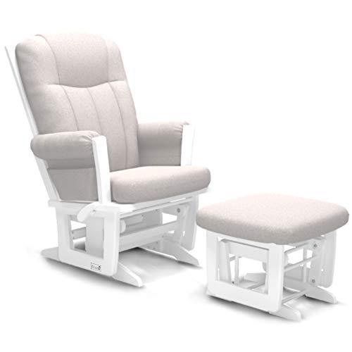 Dutailier Erie 0585 Technogel Glider Chair with Ottoman