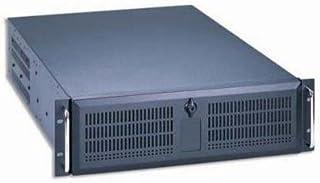 Dynapower EJ-2U647-C Black Heavy Duty Steel 2U Rackmount Server Case 25.6 Deep 2x5.25 2x3.5 open 3x3.5 hidden 3x8 cm 1x6cm Ball Bearing Fans included Support Max 12x13 M//B