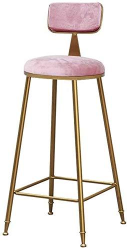 QJY barkruk stoel liner zonder armleuning design vergulde solide metalen zitting modern en modern
