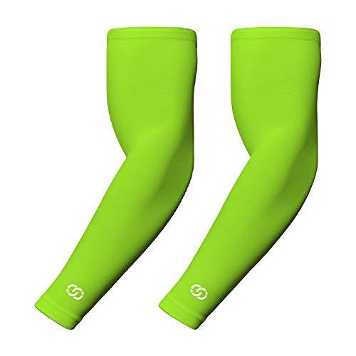 CompressionGear Armbandage für Männer & Frauen - Kühlende Armlinge für Durchblutung & Muskelaufbau - Perfekte Sonnenschutz-Bandage für Sport, Training & Outdoor-Aktivitäten