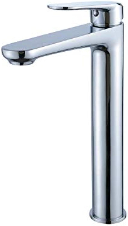 CasavillaEurope Hoher Auslauf Waschtischarmatur Chrom Bad Wasserhahn Einhandmischer Mischbatterie für Badezimmer Waschbecken