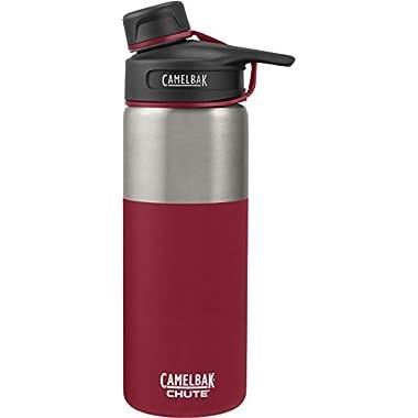CamelBak (53866) Chute Vacuum Insulated Stainless Water Bottle -  Brick, 20 oz