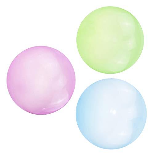 #N/A/a 3X Bola de Burbuja Inflable Globo de Burbuja Fiesta Al Aire Libre Verde Azul Púrpura S