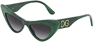 Dolce & Gabbana DEVOTION DG 4368 GREEN/GREY SHADED 52/18/145 women Sunglasses