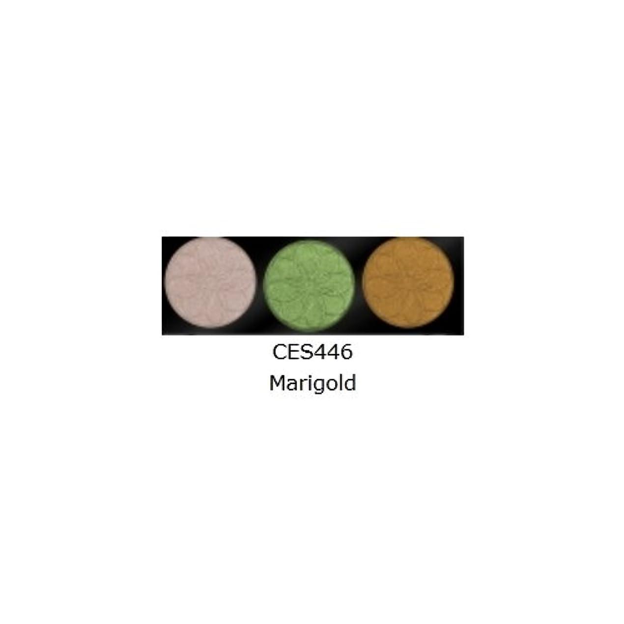 エレメンタル文芸お勧め(3 Pack) L.A. COLORS 3 Color Eyeshadow - Marigold (並行輸入品)