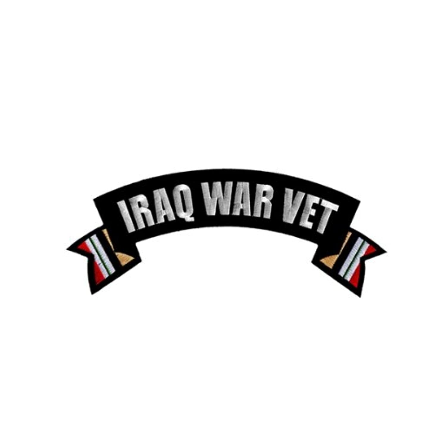 Hot Leathers Iraq War Vet Banner Patch (4