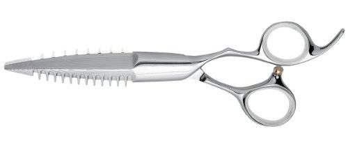 Profi Friseur-Haarschneideschere Leader Shark Damast 371-6.0 Zoll (1 x 1 Stück)