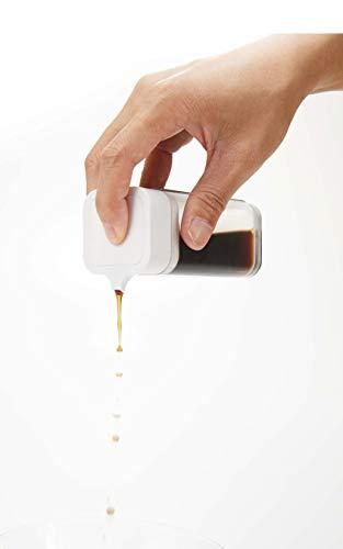 プッシュ式で少量ずつしか出ないので、醤油のかけすぎを防止することができます。塩分制限をされてる方にもおすすめ。注ぎ口は切れが良く細く注ぐことができます。