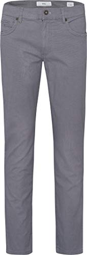 BRAX Herren Style Two Tone Five Pocket Flachgewebe Hose, Smoke, 38W/30L