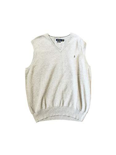 Polo Ralph Lauren Men's Mesh Vest Big & Tall Vests (3X Big, Grey Heather)