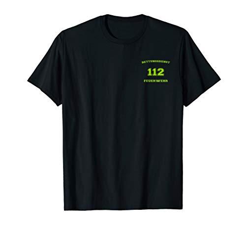 Rettungsdienst Feuerwehr T-Shirt Arbeitskleidung T-Shirt