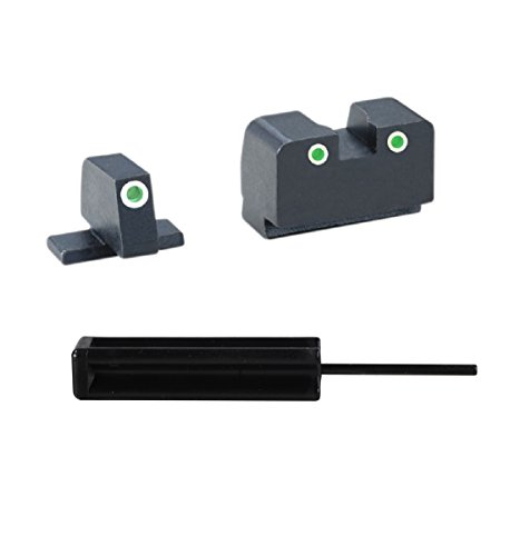 Ultimate Arms Gear AmeriGlo XD-181 All Springfield XD models, Tall Suppressor Night Sight Set, 3/32 Pin Punch Tool