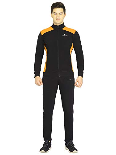 CLUB SPUNKY Men's Track Suit (Tracksuit) for All Season, Gym, Sports, Running, Jogging, Night wear, Tracking & Multi Purpose use