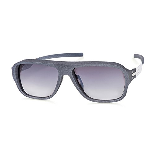 Sunglasses Ic!Berlin I See Grey Plotic Made in Germany 100% Authentic New