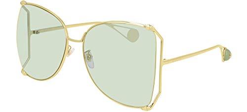 Gafas de Sol Gucci GG0252S Gold/Green 63/18/135 mujer
