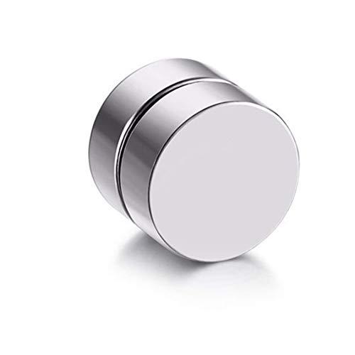 Chikengo Pendientes de Clip magnéticos magnéticos con imán de Moda Vintage para Hombre, Pendientes de Clip no perforantes, Pendientes Falsos para Amante del Novio