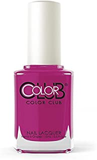 Color Club Poptastic Neons Nail Polish, Purple, Mrs. Robinson.05 Ounce