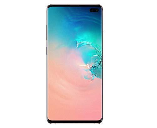 Samsung Galaxy S10+ Smartphone (16.3cm (6.4 Zoll) 1 TB interner Speicher, 12 GB RAM, Ceramic White) - [Standard] Deutsche Version (Generalüberholt)
