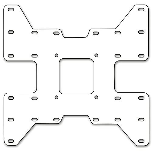 DRALL INSTRUMENTS Placa adaptadora Vesa para Soporte de Monitor Extensión de VESA...
