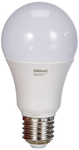 OSRAM Smart+ Ampoule LED Connectée | Culot E27 | Forme Standard | Dimmable | Blanc Chaud/Froid 2700/6500K | 9W (équivalent 60W) | Zigbee - Compatible Android & Amazon Alexa