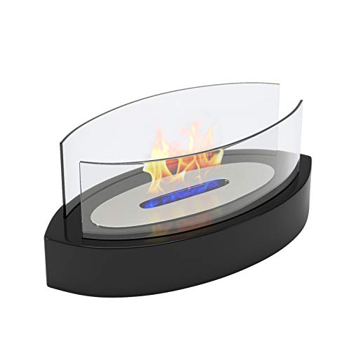 Best Buy! Regal Flame Veranda Ventless Indoor Outdoor Fire Pit Tabletop Portable Fire Bowl Pot Bio E...