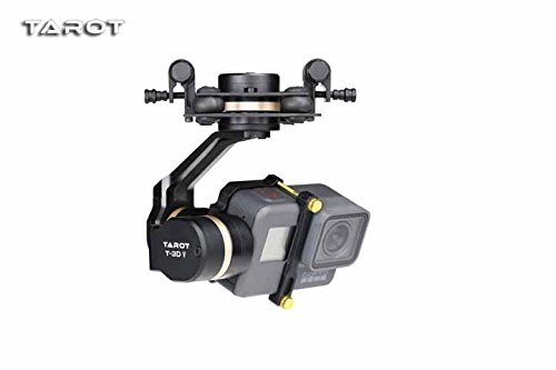 TAROT 3D V Metal 3-axis PTZ Gimbal Camera Stablizer for Action Camera FPV Drone Spare Parts TL3T05