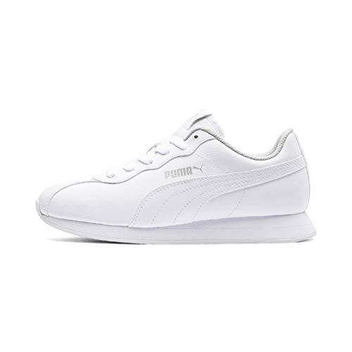 PUMA Turin II Jr, Zapatillas Unisex Adulto, White White, 36 EU