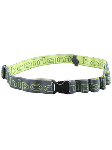 Amphipod Race-Lite Quick-Clip Plus Charcoal Green Number Belt (9082-3)