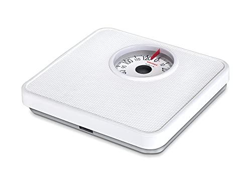 Soehnle 61098 Pesa Persona Meccanica Tempo White 130 kg, Bianco