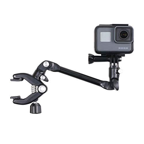 Shangjunol Ersatz für GoPro Kameras 360 drehen Musik Berg Armständer Gitarre Drum Clips Bass Halter Clamp